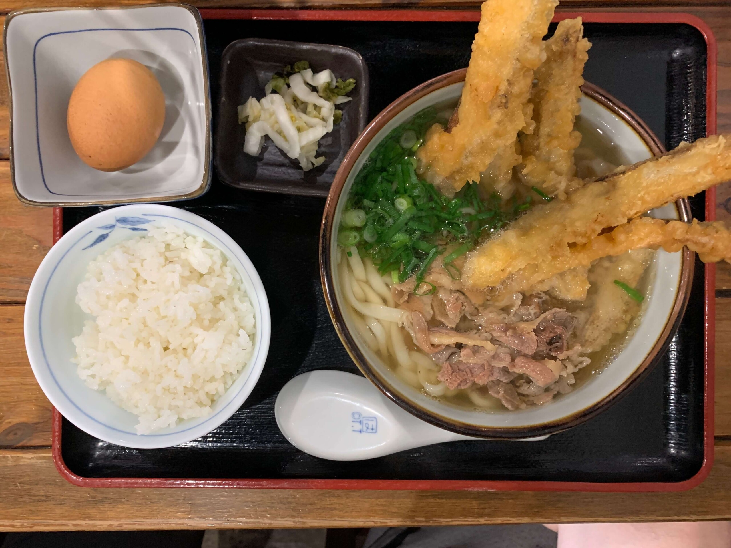 福山大隈肉ごぼううどんセット